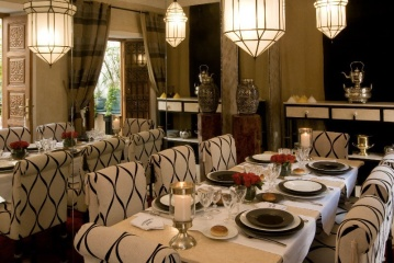 Riad Dar Zerban Marrakech MedinaLa Salle à Manger