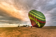 Le Balon va se gonfler